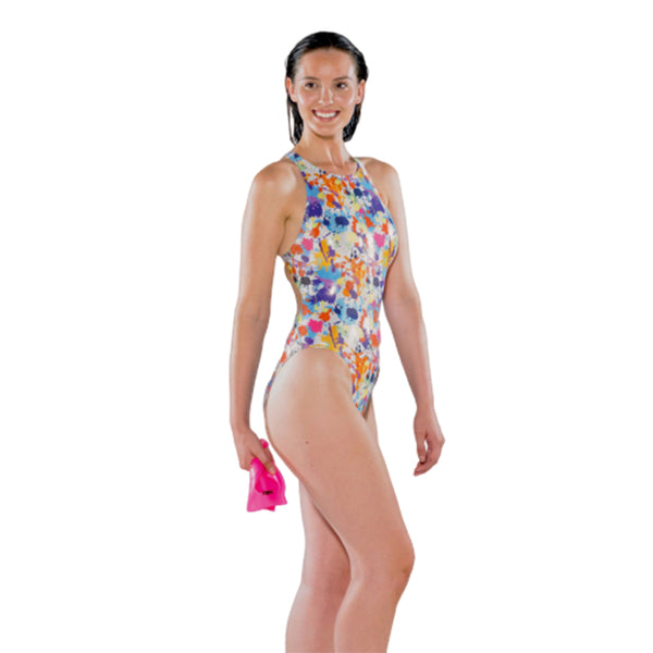 Maru - Splash Sparkle Tek Back One Piece Swimsuit