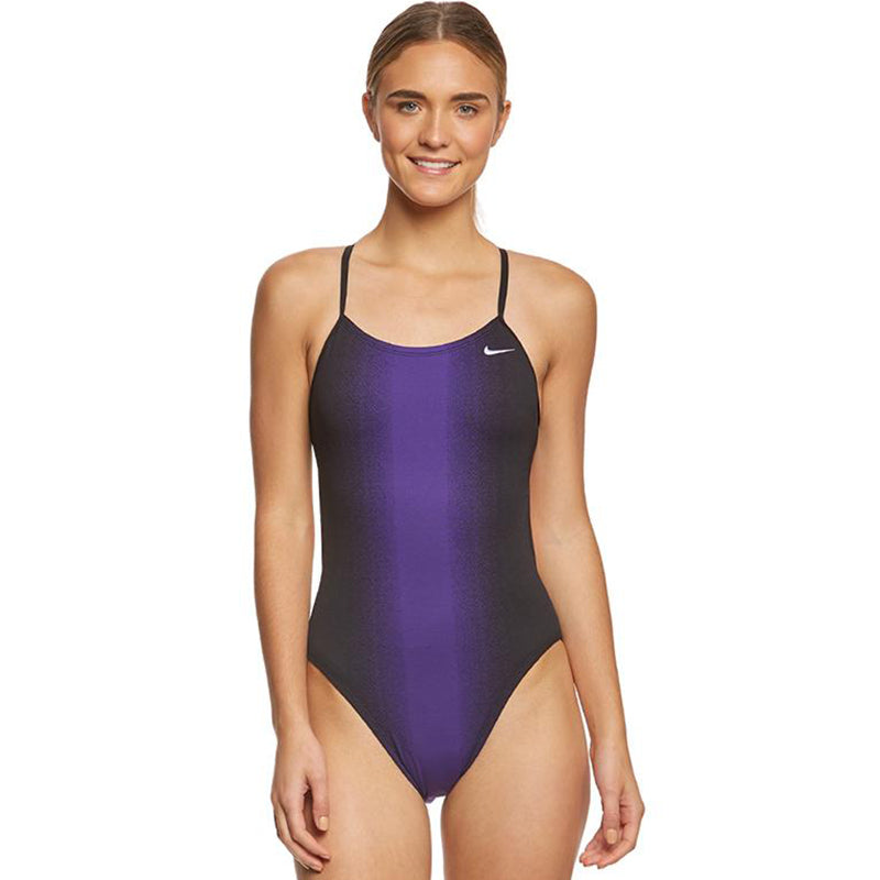 Nike - Fade Sting Cutout Ladies One Piece Swimsuit (Court Purple)