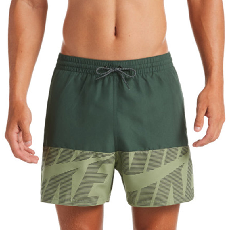 "Nike - Tilt Split Breaker 5"" Volley Short (Galactic Jade)"