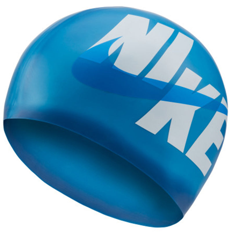 Nike - Unisex Logo Silicone Training Cap (Deep Royal Blue)