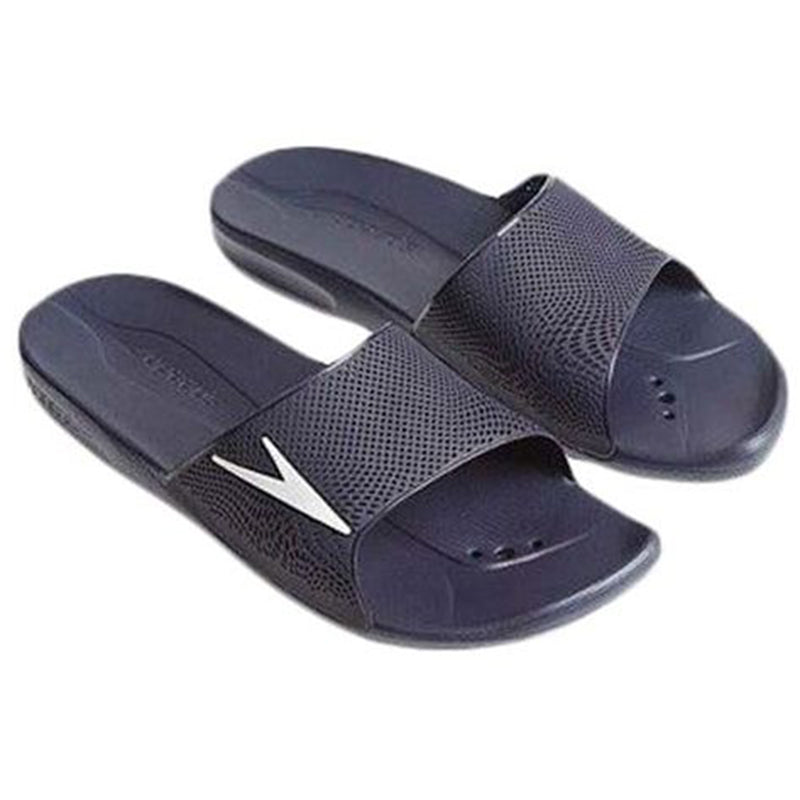 Speedo - Atami II Max Adults Male Slides - Navy/White