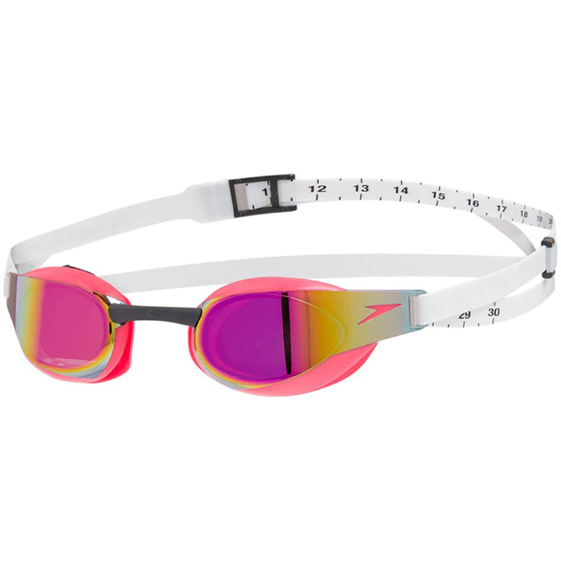 Speedo - Fastskin Elite Mirror Goggle - White/Red