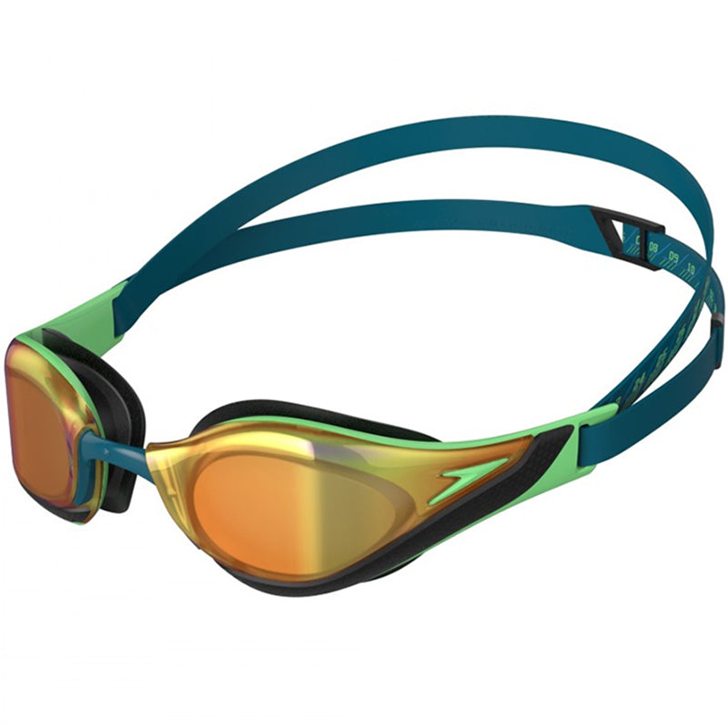 Speedo - Fastskin Pure Focus Mirror Goggle - Green/Gold