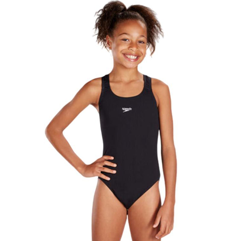 Speedo - Girls Essential Endurance Plus Medalist Swimsuit
