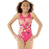Speedo - Smoothdive Splashback Junior Girls Swimsuit - Pink