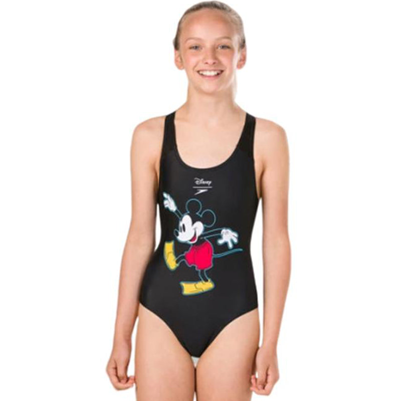 Speedo - Mickey Mouse Digital Placement Splashback Swimsuit