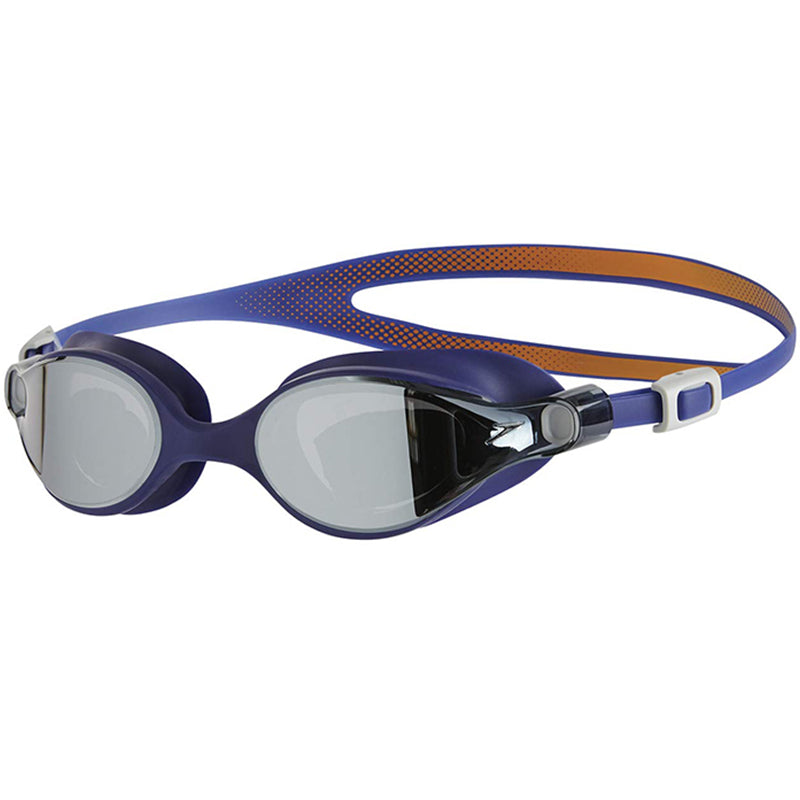 Speedo - Virtue Mirror Female Goggle - Blue/Silver