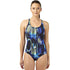 Speedo - Endurance plus All Over Digital Powerback Swimsuit - Navy/Blue