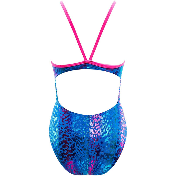 The Finals - Big Cat Foil Wingback Swimsuit