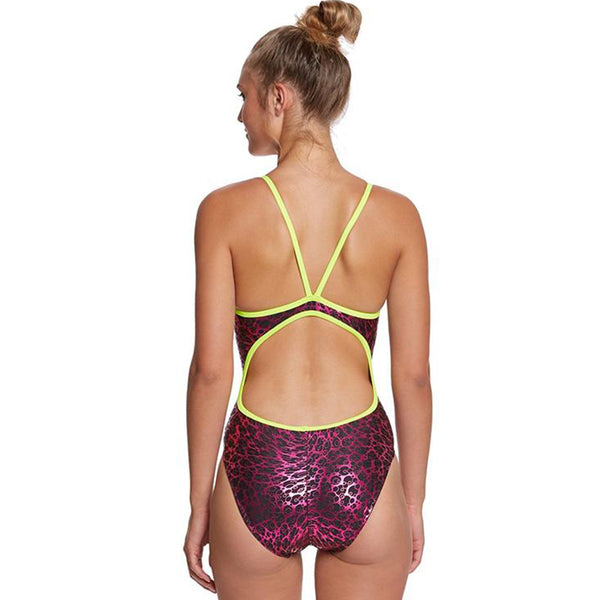 The Finals Funnies - Bubble Fun Foil Flutterback Swimsuit