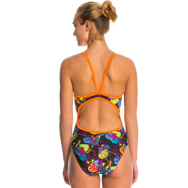 The Finals Funnies - Rosebud Non Foil Wingback Swimsuit