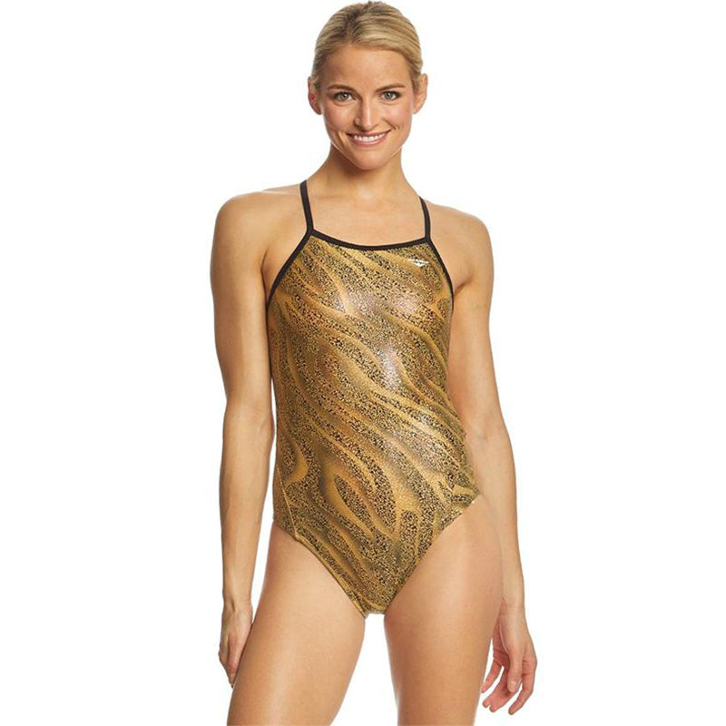 The Finals Funnies - Slither Foil Wingback Swimsuit