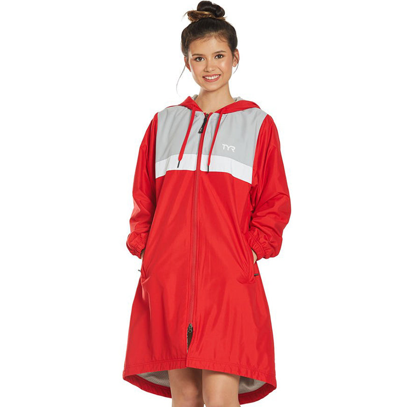 TYR - Alliance Podium Ladies Parka (Red)