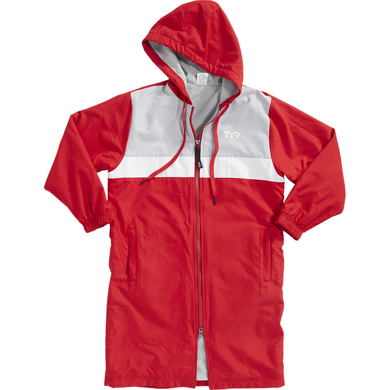 TYR - Alliance Podium Youth Team Parka (Red)