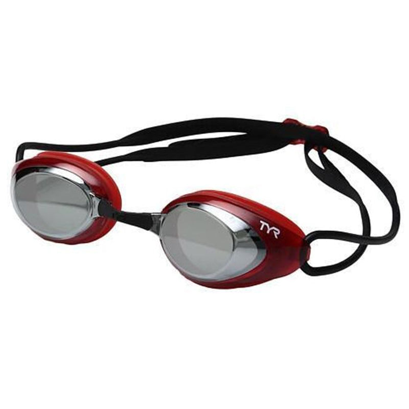 TYR - Blackhawk Racing Mirrored Goggles - Silver/Red