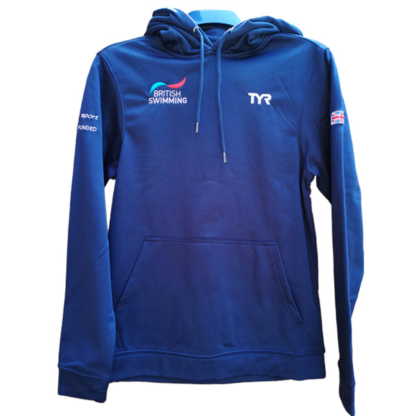 TYR - British Swimming GB Mens Hooded Top (Navy)