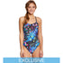 TYR - Disco Inferno Cutoutfit Ladies Swimsuit - Rainbow