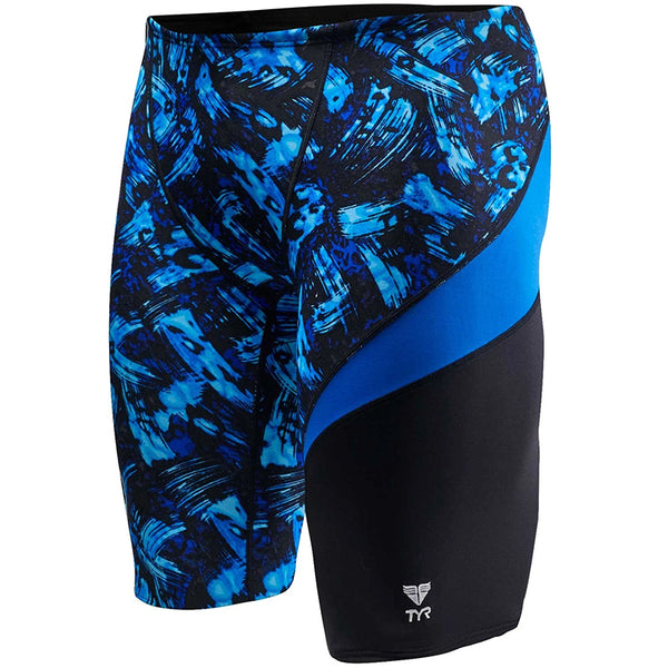 TYR - Emulsion Wave Durafast Mens Jammer - Blue