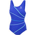 TYR - Durafast Highneck Ladies Swimsuit - Blue - Aqua Swim Supplies