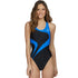 TYR - Alliance T-Splice Maxfit Ladies Swimsuit - Black/Blue