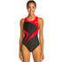 TYR - Alliance T-Splice Maxfit Ladies Swimsuit - Black/Red
