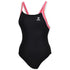 TYR - Tricolor H-Back Ladies Swimsuit - Black/Pink