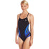 TYR - Phoenix Splice Diamondfit Ladies Swimsuit - Black/Blue