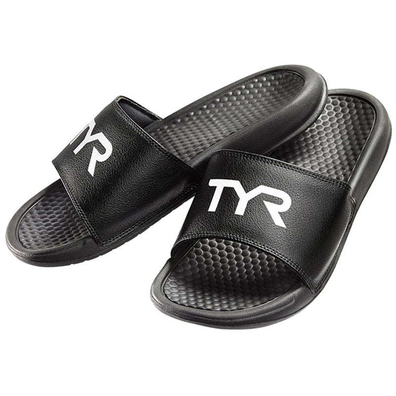 TYR - Men's Alliance Alpha Deck Slides - Black