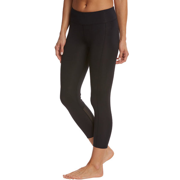 TYR - Women's Active ¾ Kalani Tight- Solid Black