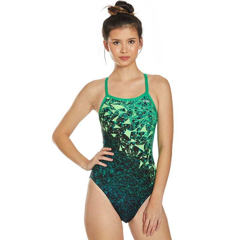 TYR - Orion Diamondfit Ladies Swimsuit - Green