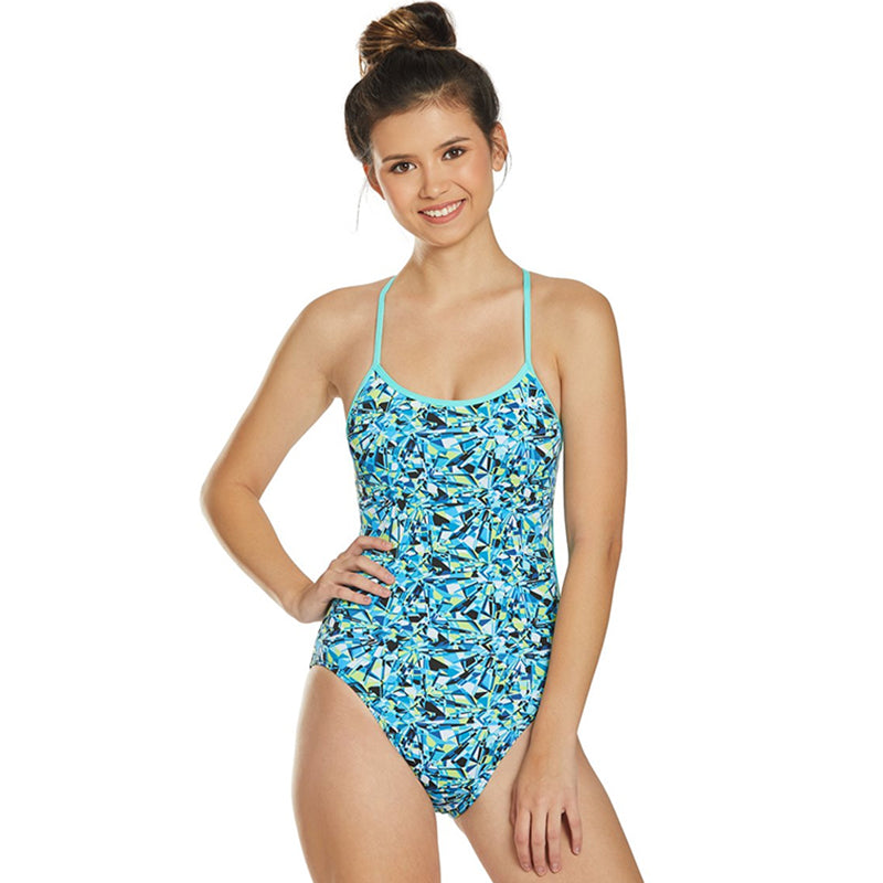TYR - Fragment Trinityfit Ladies Swimsuit - Blue/Multi