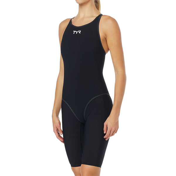 TYR - Thresher™ Open Back Ladies Competition Swimsuit - Black/Grey