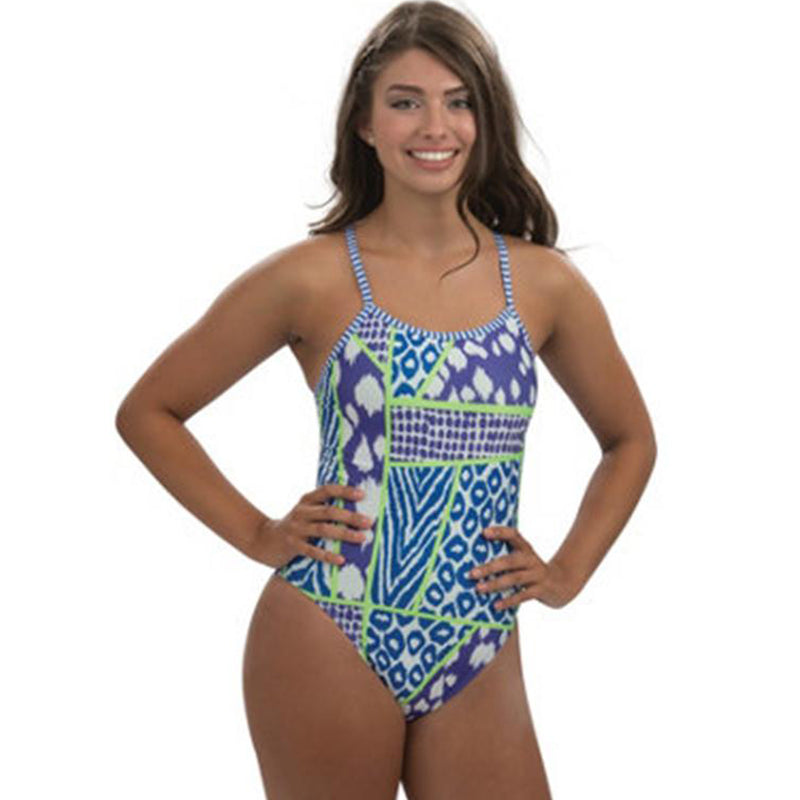 Dolfin Uglies - Wild Thing Double Strap Back One Piece Swimsuit