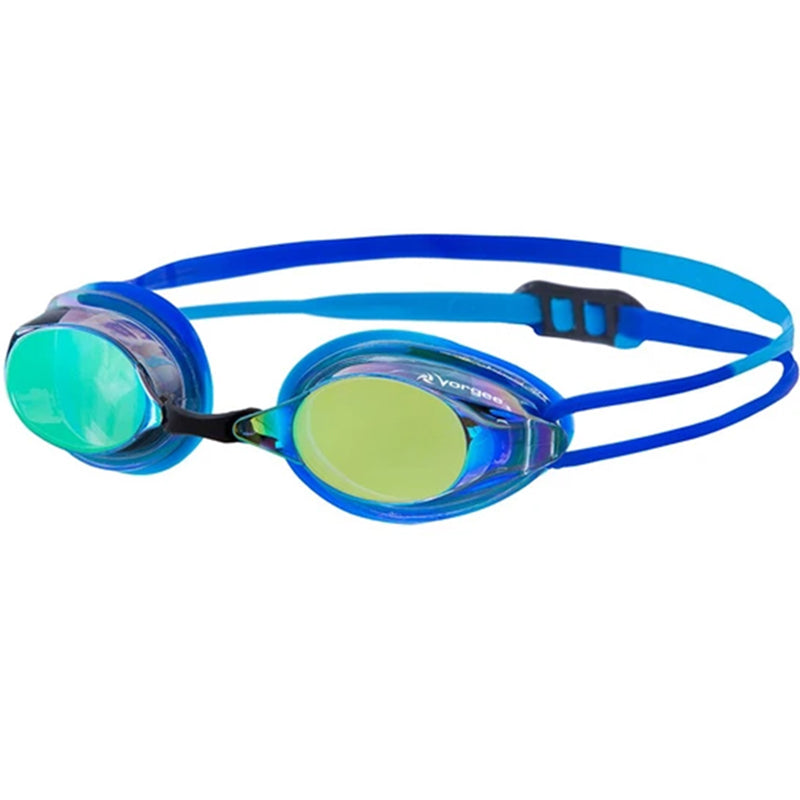 Vorgee - Extreme Competition Missile Fuze Rainbow Mirror Lens Goggles - Blue/Powder Blue