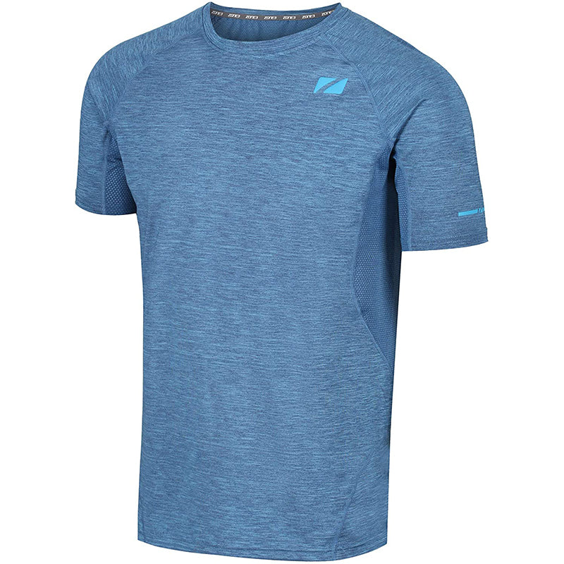 Zone3 - Men's Power Burst T-Shirt - Royal Blue/Sky Blue