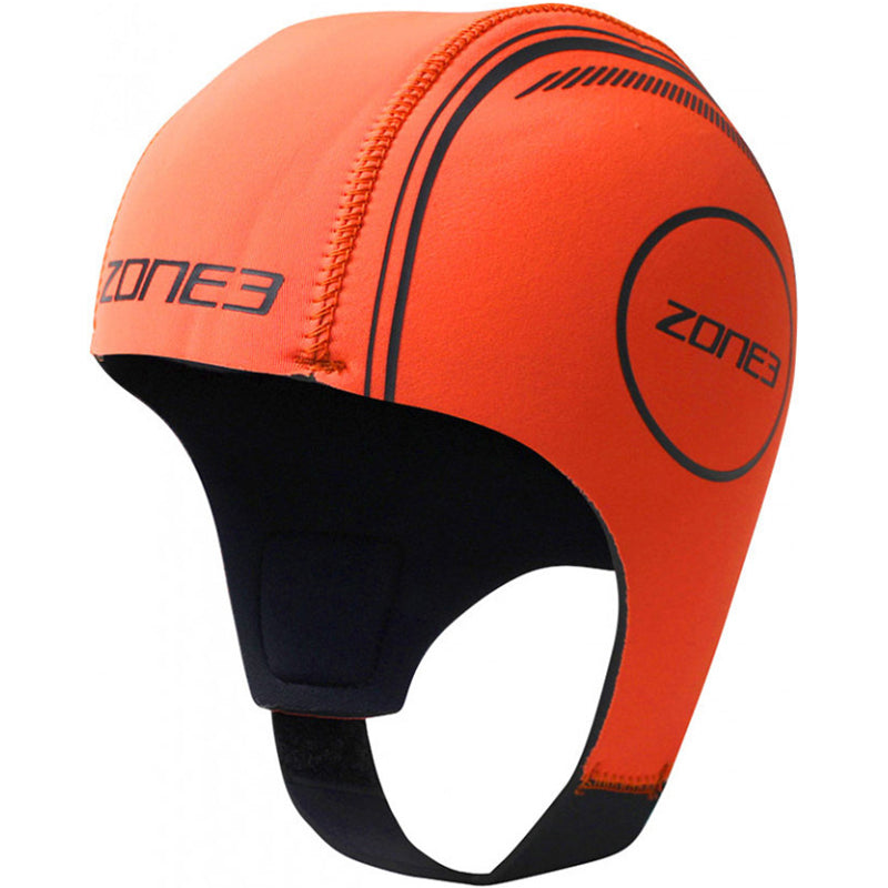 Zone3 - Neoprene Swim Cap - Orange