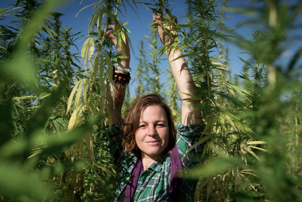 Maria Simon - regional hemp oil for sustainability
