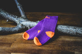 Membransocke Dexshell Kids purple / orange