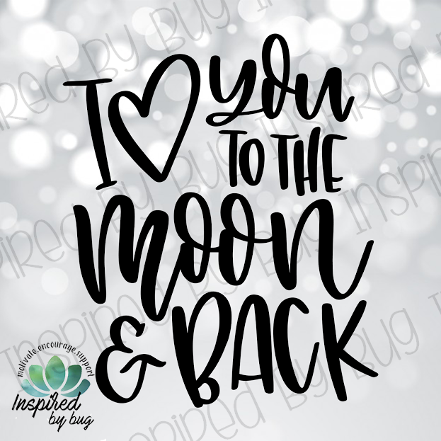 I Love You to the Moon and Back Raglan