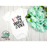 I Love You to the Moon and Back Bodysuit
