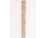 Weathered Wood Carved Growth Chart