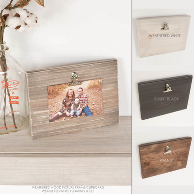 "Add On: 4""x6"" Picture Frame Clipboard"