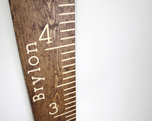 Giant Ruler Growth Chart