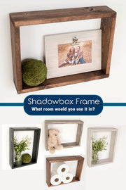 shadow box decor pinterest pin, shadow box frame, #pictureframe #shadowbox, #homedecor shadow box