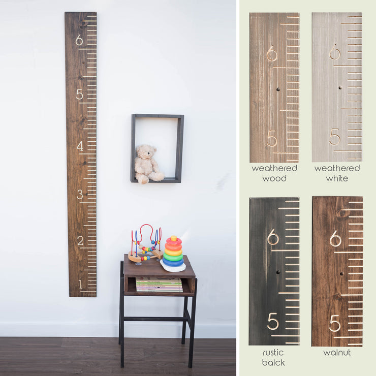 Childs height chart, kids measuring stick, growth chart ruler, wooden measuring stick, baby stats, milestone chart, multiple color options