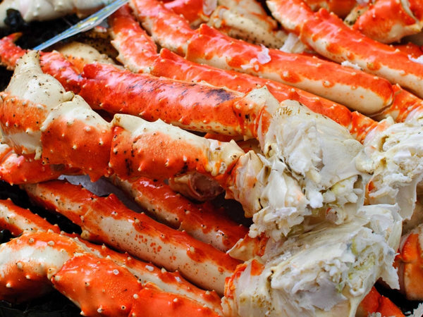 Giant Alaskan King Crab Legs