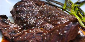 Teriyaki Marinated Steaks
