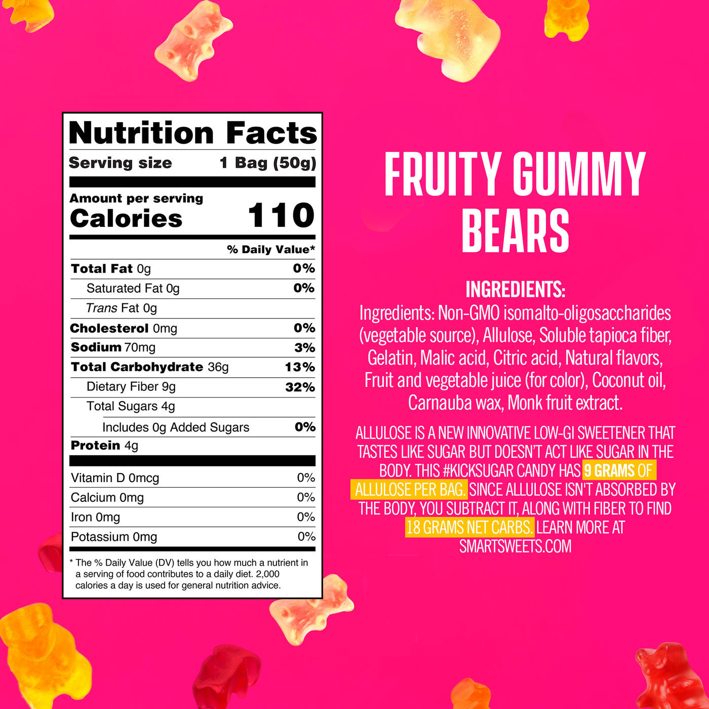 Fruity Gummy Bears