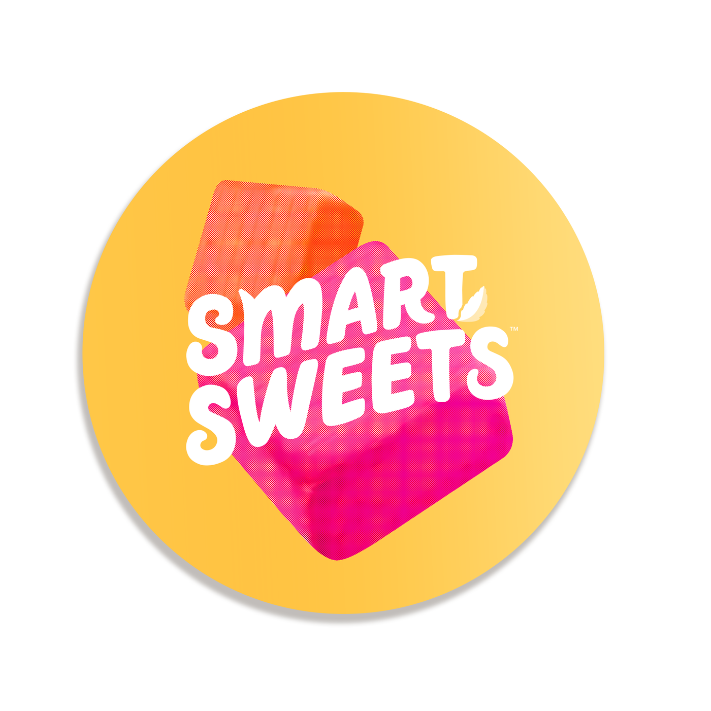 Sweet Chews Round Sticker