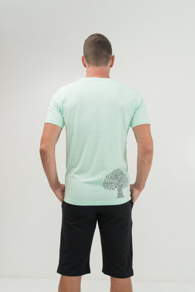 Tree of life Green T-shirt - Men